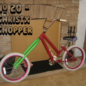 #20 Christx Chopper