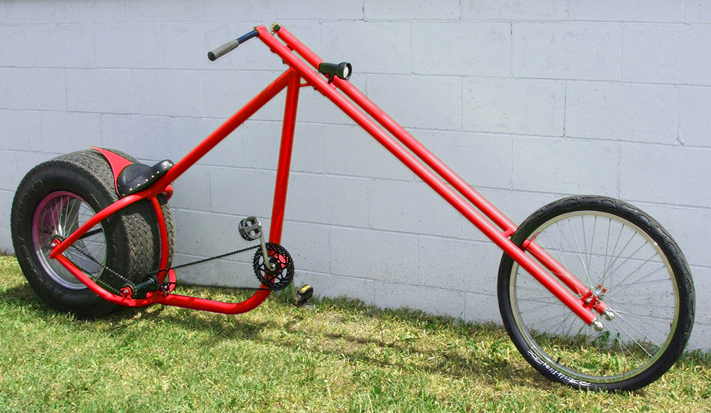 ... your amazing DIY Chopper. You can utilize anything made of metal to create your frame, standard bike parts for the transmission, and just about anything ...