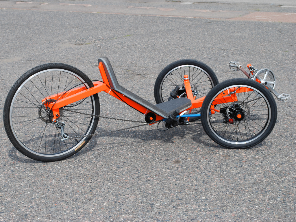 Warrior Racing Trike DIY Plan | AtomicZombie DIY Plans