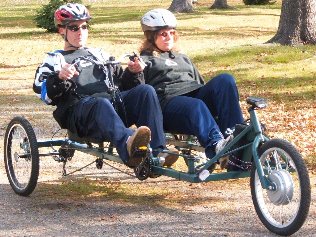 KyotoCruiser Tandem Trike DIY Plan | AtomicZombie DIY Plans