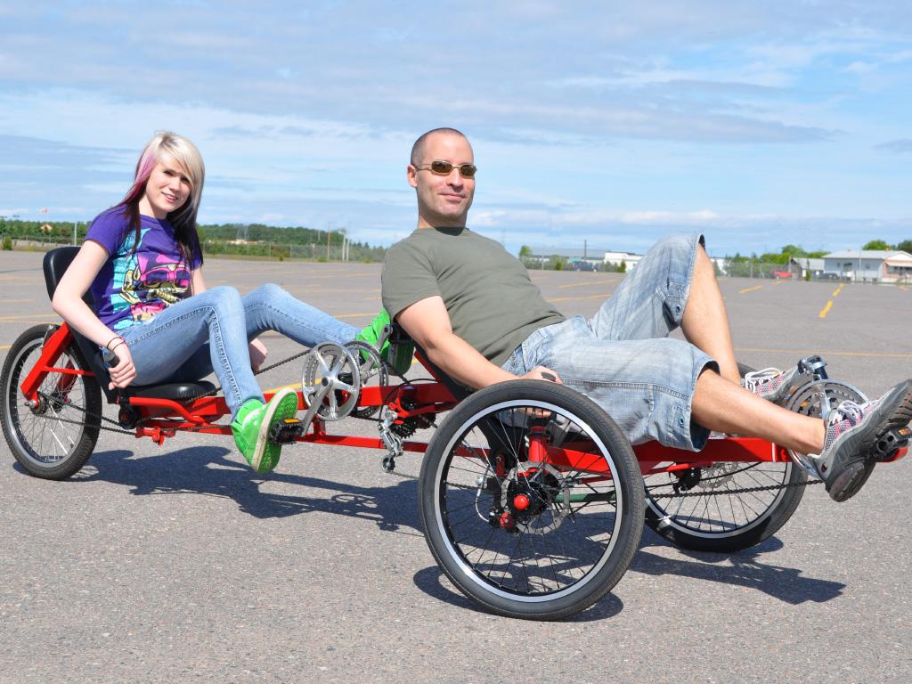 Viking Tandem Trike DIY Plan