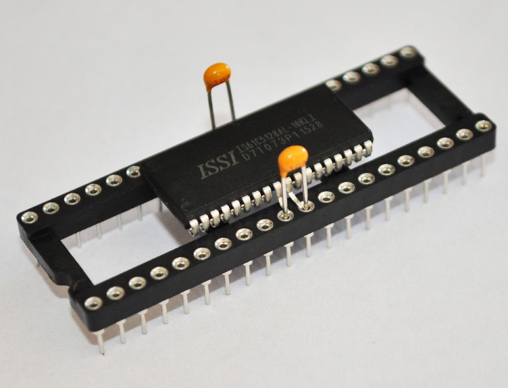 Adding decoupling capacitors