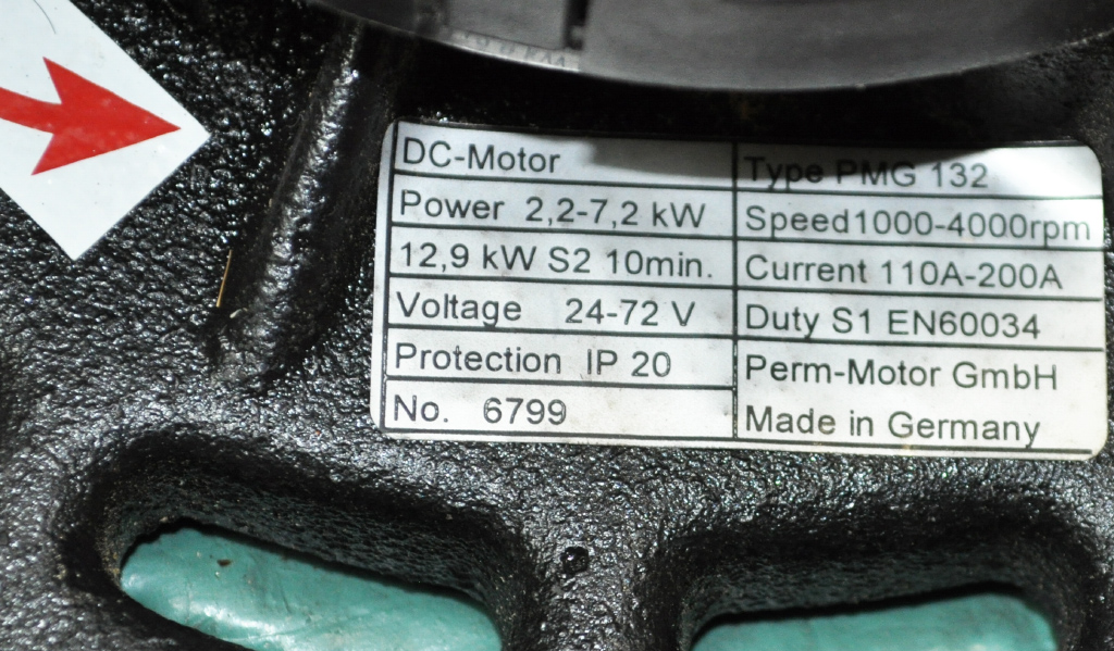 pmg-132 power