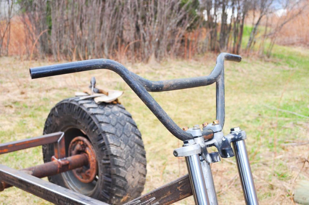 yard mule steering