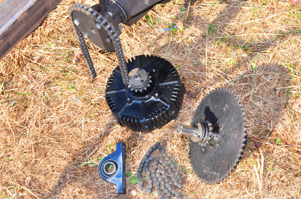 motor and jackshaft