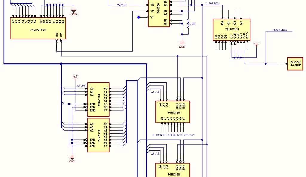 IO decoder schematic