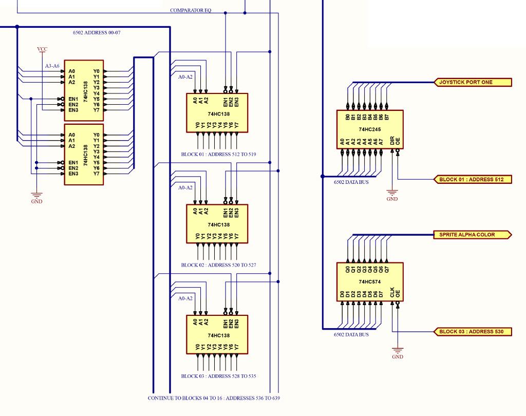 IO schematic segment