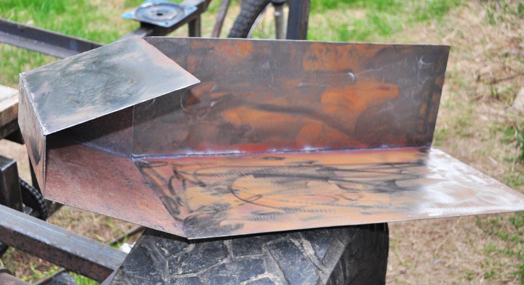 fuel tank sheet metal