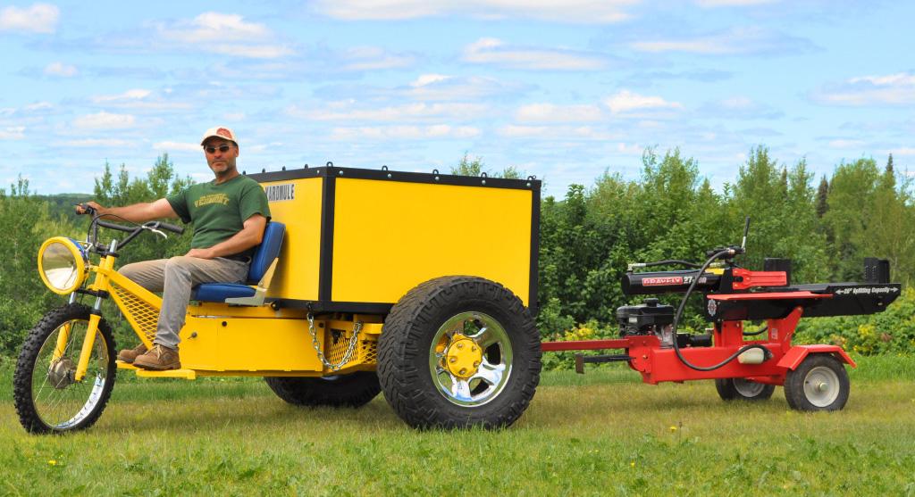 The Yard Mule DIY Electric Dump Trike