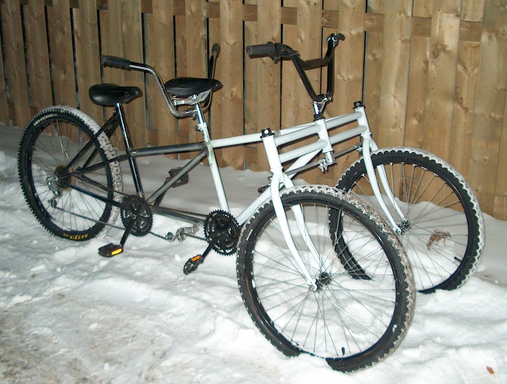 SnowBus Winter Tandem - truss welded