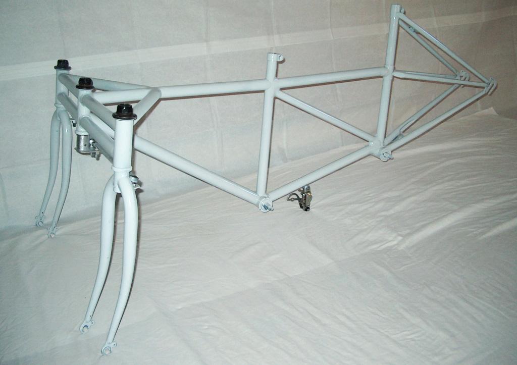 SnowBus Winter Tandem - frame painted